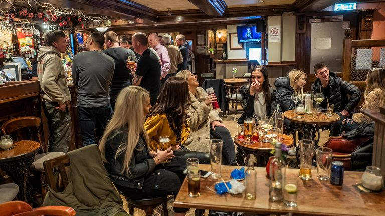 Social gatherings of more than six people in homes, parks, pubs and restaurants are to be banned in England from Monday