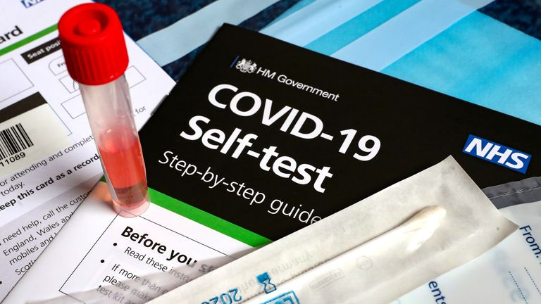 Coronavirus self-testing kit