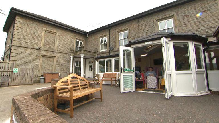 Aberdare care home in Rhondda