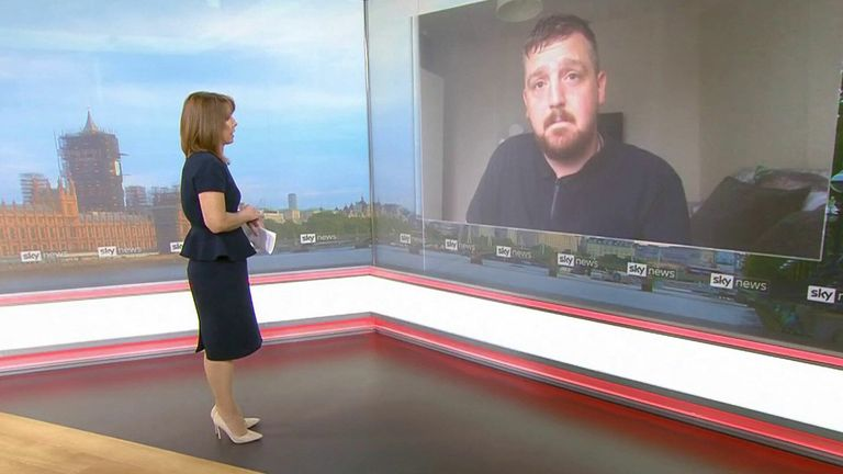 Andrew Jenkinson speaks to Kay Burley about the delays coronavirus has caused to his wife Emma's cancer treatment.