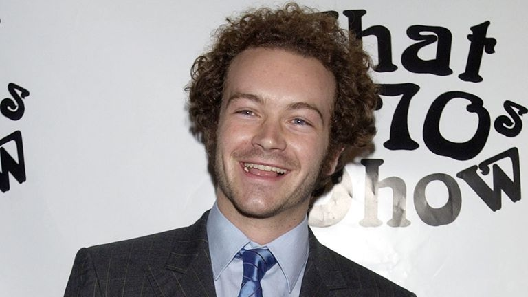 Danny Masterson at a promotional event for That '70s Show in the noughties
