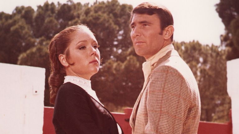On Her Majesty's Secret Service, Diana Rigg, George Lazenby. Pic: Moviestore/Shutterstock