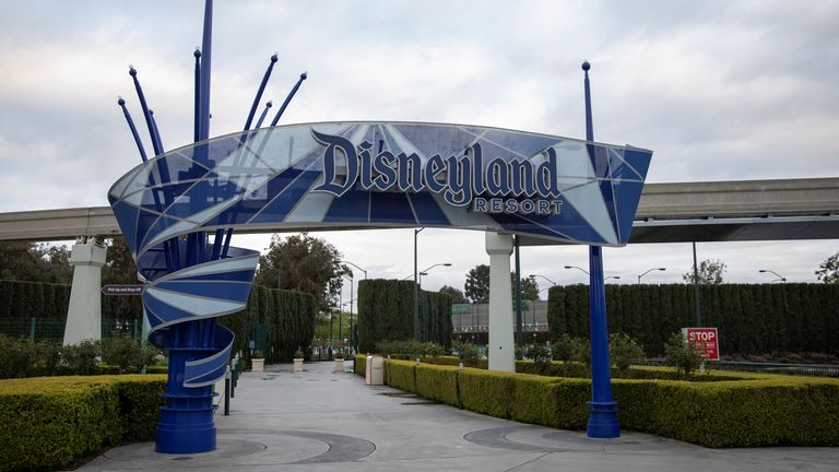 Disneyland in California has not been able to reopen since restrictions were first imposed earlier this year