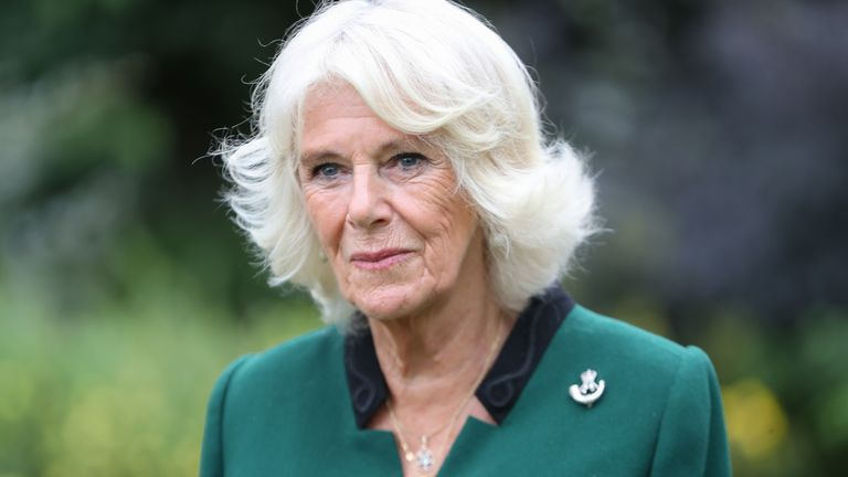 The Duchess Of Cornwall Visits The 1st Battalion The Rifles