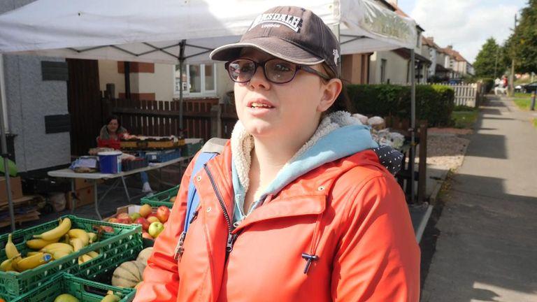 Natasha is a foodbank user