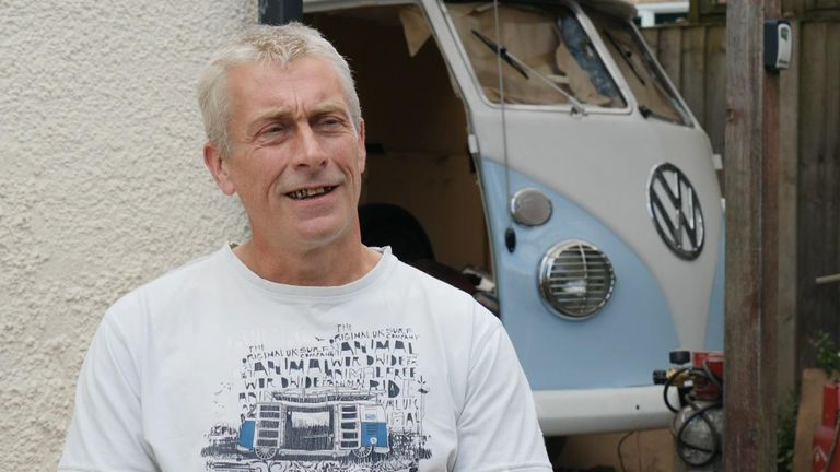 David Jenkins worked on Airbus' production line in Broughton but was made redundant