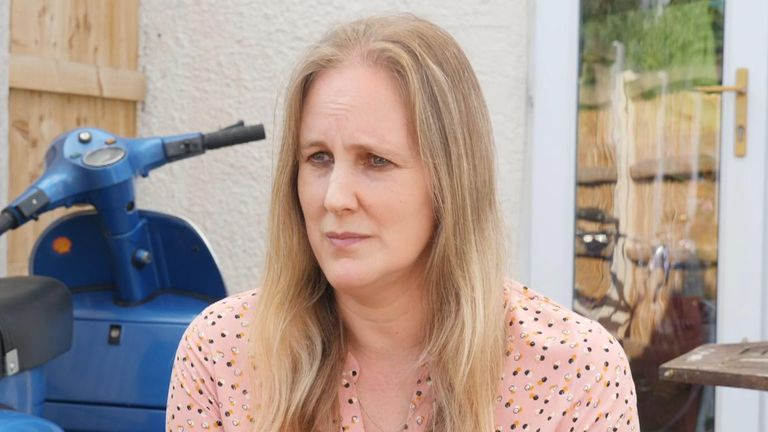 Louise Jenkins is concerned her husband will now struggle to find work