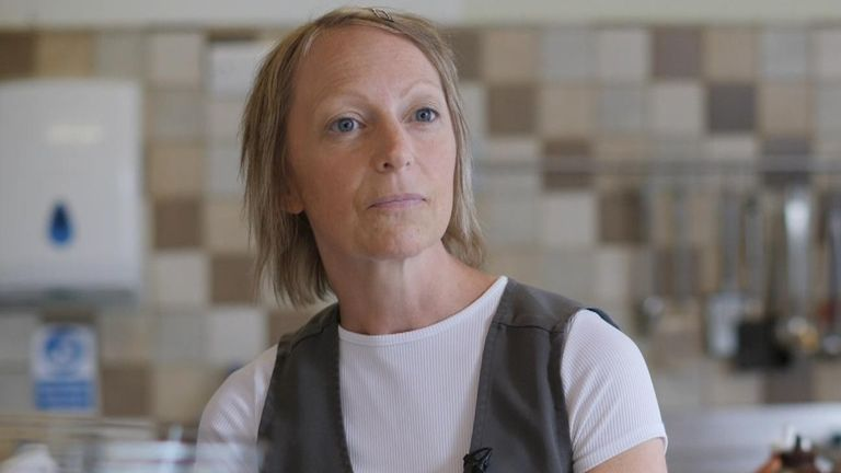 Sandwich shop owner Alison Peverley says business has suffered