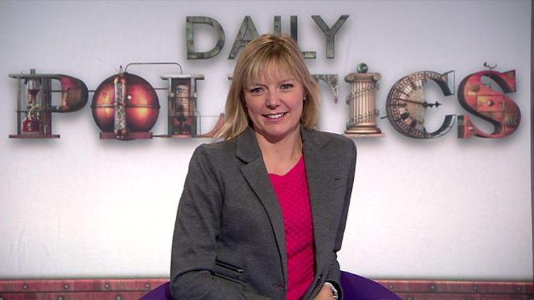 BBC reporter Ellie Price. Pic: BBC