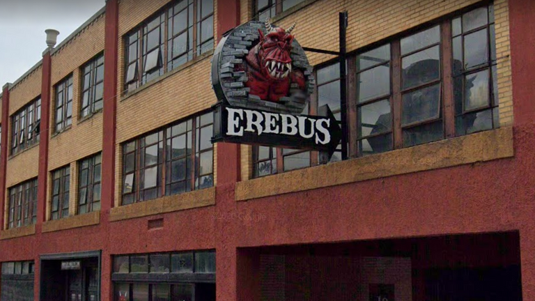 The shooting happened after an altercation at the Erebus 'haunted house' attraction in Pontiac. Pic: Google