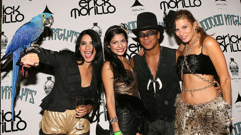 Morillo at the pre-party for his Voodoo Nights in Hollywood in 2010