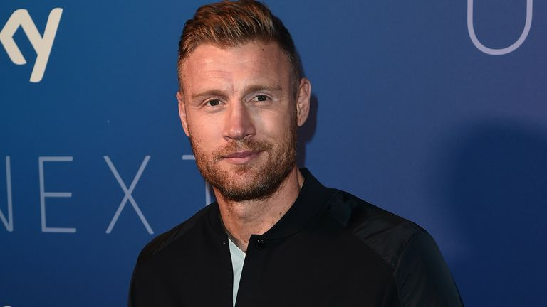 Freddie Flintoff at the Sky Up Next event in 2020