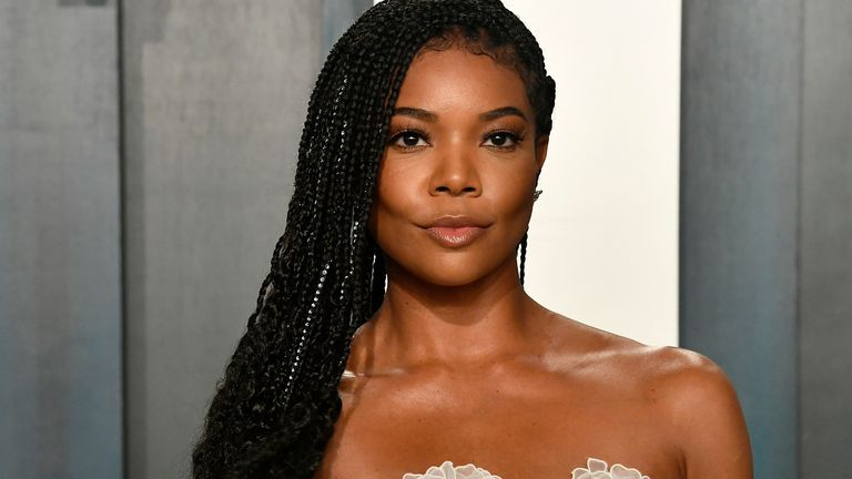 Gabrielle Union attends the 2020 Vanity Fair Oscar Party hosted by Radhika Jones at Wallis Annenberg Center for the Performing Arts on February 09, 2020 in Beverly Hills