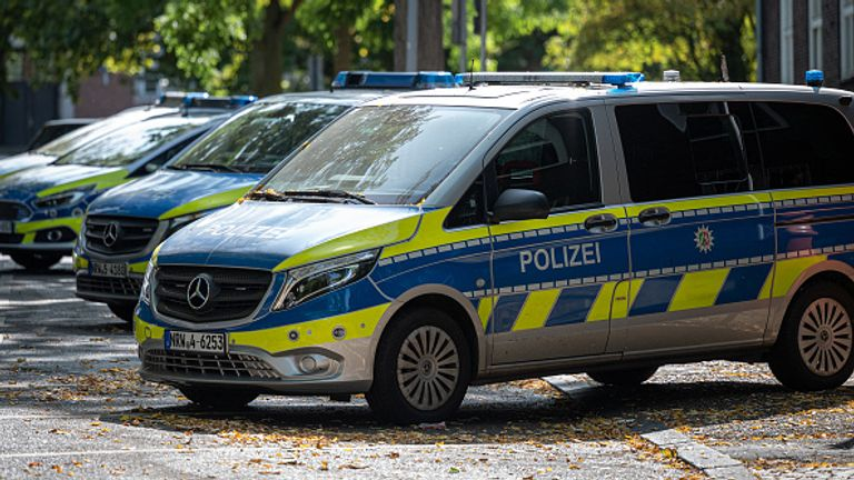 The officers under investigation are from North Rhine-Westphalia