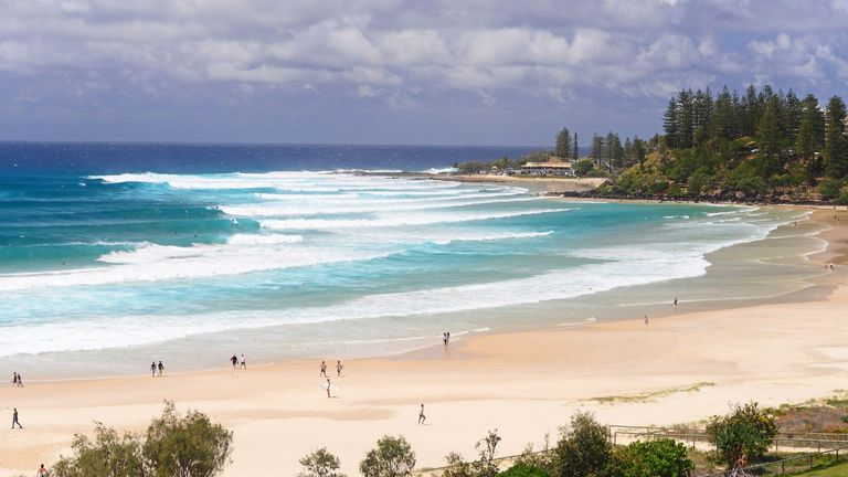Greenmount beach, Australia