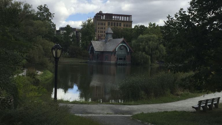 Harlem Meer is at the northeastern end of Central Park