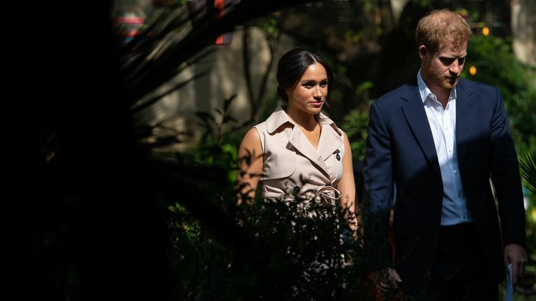 Harry and Meghan's trip to Africa was the most expensive royal journey of 2019-20