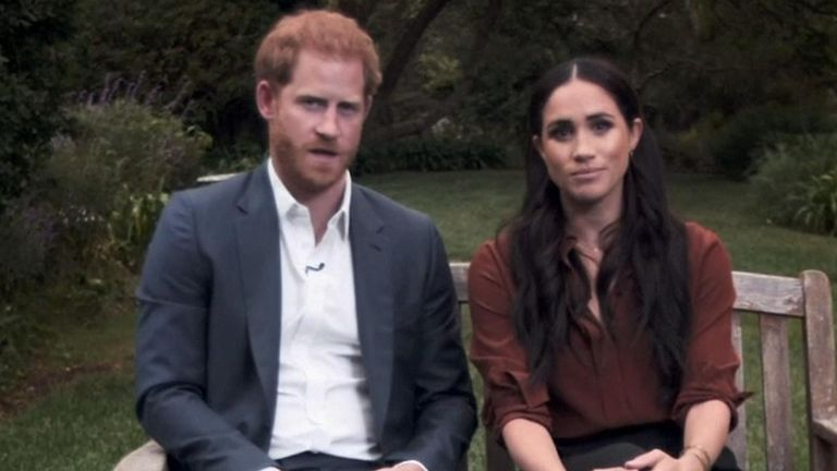 Harry and Meghan urged Americans to register to vote