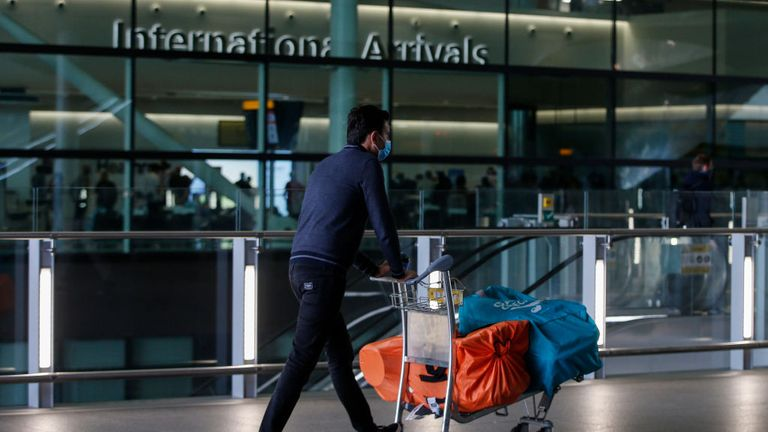 Travellers arriving from certain countries must quarantine for 14 days