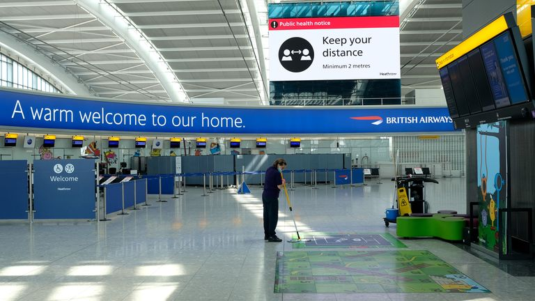 Heathrow had been seeking volunteers for redundancy given the collapse in demand for air travel