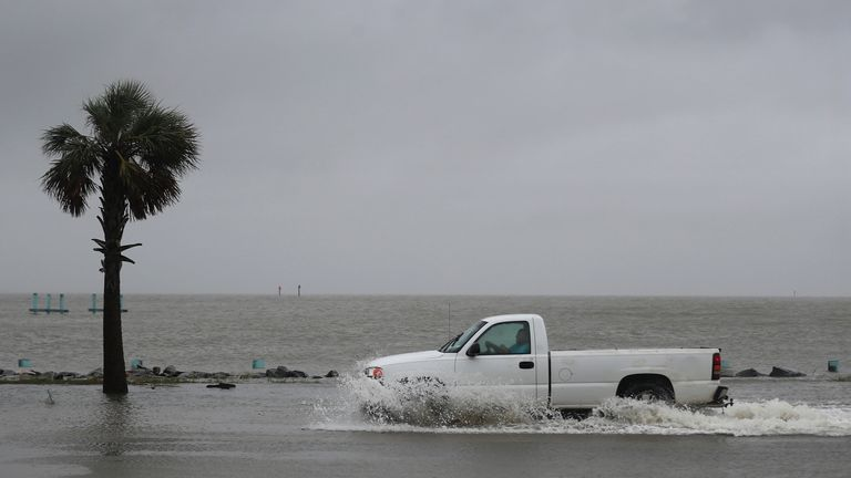 Hurricane Sally Makes Landfall On Gulf Coast