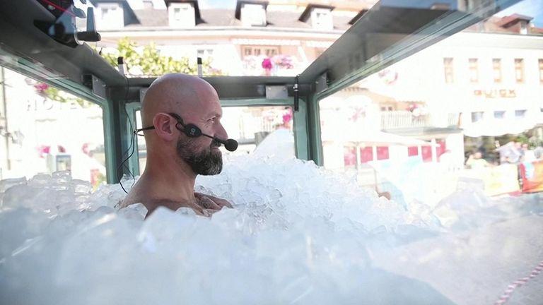 Ice world record