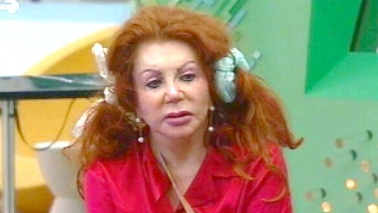 Jackie Stallone. Pic: Shutterstock