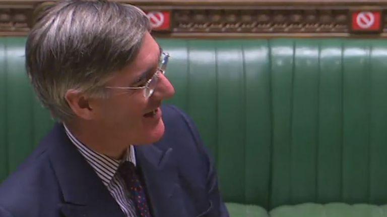 MP Jacob Rees-Mogg