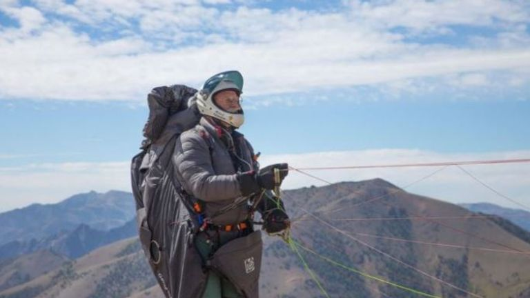 The New Zealander had been a paraglider for 30 years. Pic: GoFundMe