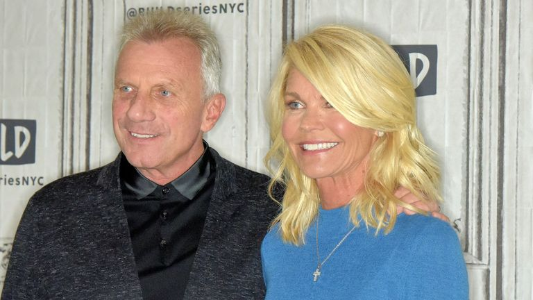 Joe Montana and his wife Jennifer
