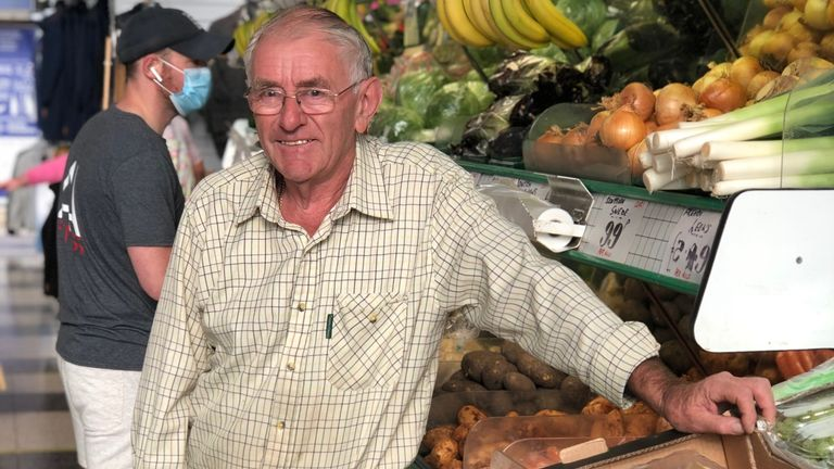 John Nugent, greengrocer