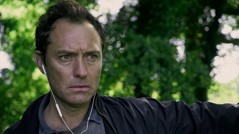 Jude Law stars as Sam in The Third Day. Pic: Sky UK/ HBO