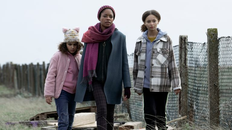 Naomie Harris stars as Helen in The Third Day. Pic: Sky UK/ HBO