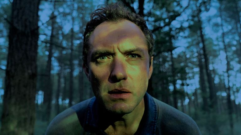 Jude Law stars in Third Day. Pic: Sky UK/ HBO