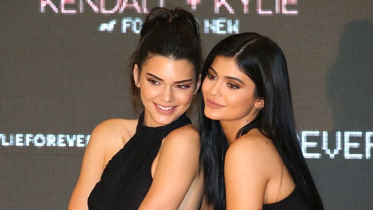 Kendall and Kylie Jenner were children when the show first aired