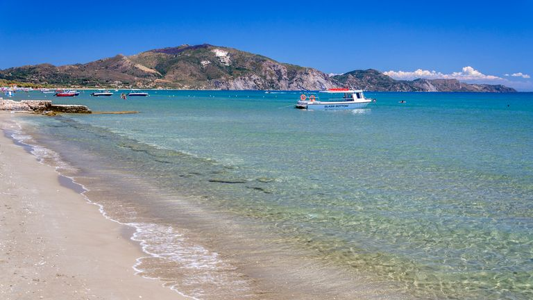 The island of Zante is popular with Britons because of its picturesque beaches. Pic: Stock image of Laganas