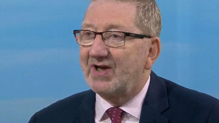 Len McCluskey says we're in danger of becoming 'wasteland UK'