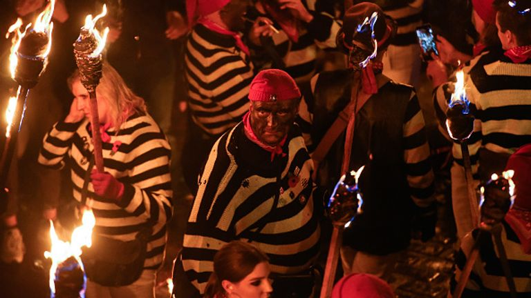 The popular Bonfire Night festivities in Lewes have been called off