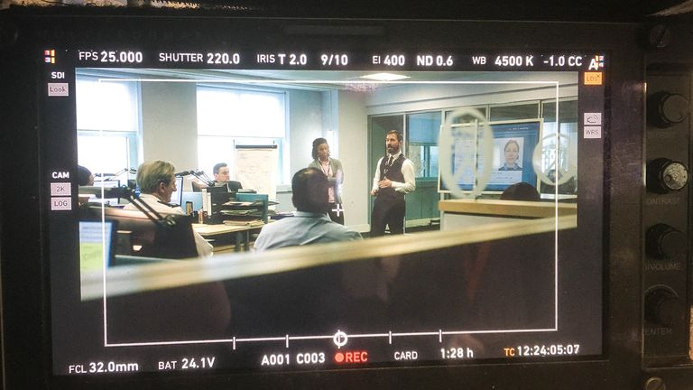 Filming has resumed on series six of Line Of Duty. Pic: BBC