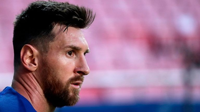 Messi has reluctantly agreed to stay at the club