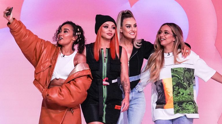 Little Mix: The Search. Pic: BBC/Modest TV/Kieron McCarron