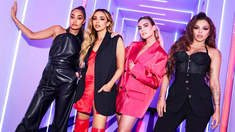 Little Mix: The Search. Pic: BBC/Modest TV/Zoe McConnell