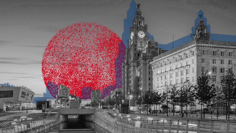Liverpool local coronavirus lockdown graphics