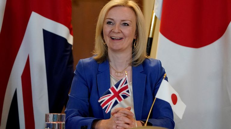 International Trade Secretary Liz Truss. Pic: Andrew Parsons / 10 Downing Street