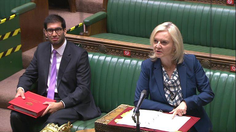 International Trade Sec Lizz Truss responds to Labour's Ruth Cadbury regarding reports Tony Abbott will be made a UK trade envoy.
