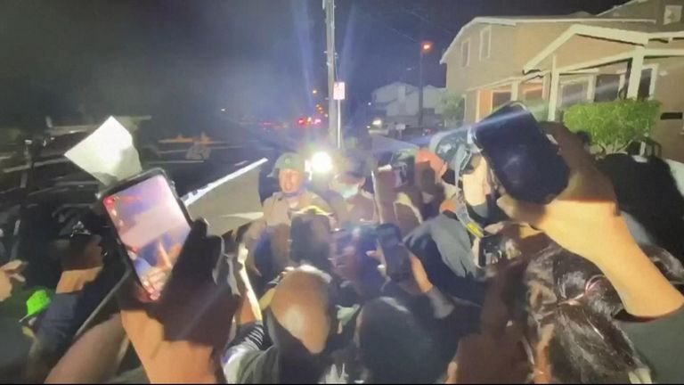 Protests erupt in Los Angeles on Monday (August 31) after Dijon Kizzee, a 29-year-old Black man, was shot by police officers from South Los Angeles Sheriff''s Station.