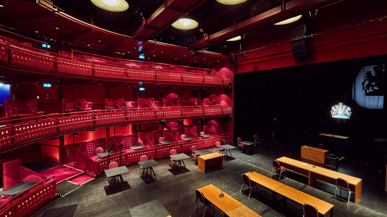 The Lowry in Salford has been converted into a Nightingale Court. Pic: The Lowry