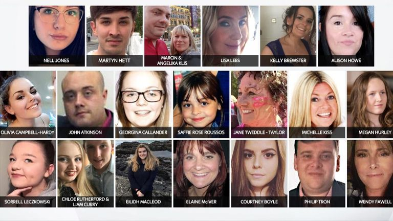 Twenty-two people were killed in the Manchester Arena bombing