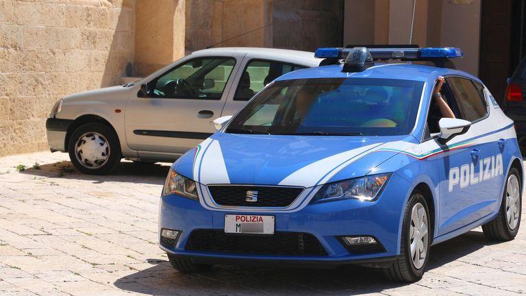 Matera police. File pic