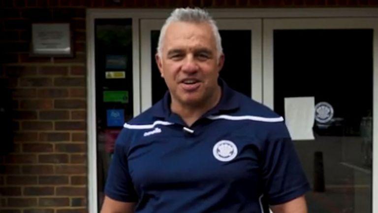 Matt Ratana was a custody sergeant in Croydon